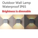 INHDBOX-Dimmable-Outdoor-Wall-Sconces-Adjustable-Waterproof-Wall-Lamps-LED-Aluminum-85-265V-Exterior-Lights-0-0