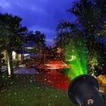 Indoor-or-Outdoor-Waterproof-Laser-Garden-Tree-Lawn-Spot-Light-Projector-Show-Christmas-Theme-Xmas-Tree-Snowman-Bell-Snowflake-Santa-Clause-with-Remote-Control-0-2