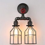 Injuicy-Lighting-Retro-Cages-Industrial-Vintage-Edison-Rust-Loft-Wall-Light-Waterpipe-Double-Lamp-0-2
