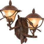 Kalco-9162PD-Ponderosa-Cast-Aluminum-Outdoor-Wall-Sconce-Lighting-200-Total-Watts-Ponderosa-0