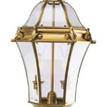 Livex-Lighting-2622-22-Outdoor-Post-with-Clear-Beveled-Glass-Shades-Flemish-Brass-0
