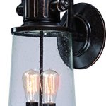 Luxury-Vintage-Outdoor-Wall-Light-Large-Size-23H-x-10W-with-Industrial-Style-Elements-Historic-Design-Royal-Bronze-Finish-and-Seeded-Glass-Includes-Edison-Bulbs-UQL1223-by-Urban-Ambiance-0