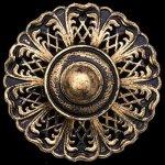 Milano-2-Light-Chandelier-in-Midnight-Gild-with-Golden-Shadow-Crystals-From-Swarovski-0