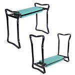 New-Folding-Garden-Kneeler-Gardener-Kneeling-Pad-Cushion-Seat-Sturdy-Green-0-0
