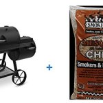 Oklahoma-Joe-Highland-879-sq-in-Smoker-with-BONUS-2LB-Luhr-Jensen-Mesquite-Chips-N-Chunks-0