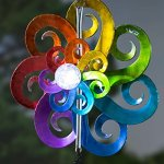 Plow-Hearth-54487-Large-Hanging-Solar-Spinner-Wind-Chimes-Multicolored-0-0