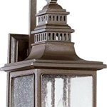 Quorum-7043-2-86-Magnolia-Two-Light-Outdoor-Wall-Sconce-Oiled-Bronze-Finish-with-Clear-Seeded-Glass-0