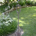 Red-Carpet-Studios-Metal-Yard-Stake-Shovel-with-Balancing-Art-Feature-Swinging-Dog-0-0