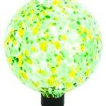Russco-III-GD137128-Glass-Gazing-Ball-10-Green-Spots-0