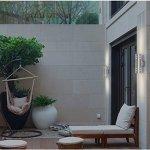 TENGXIN-Outdoor-Wall-Sconce-Waterproof-Wall-Light-Fixture-Porch-LightWall-Mount-Light-Stainless-Steel-304-Outdoor-Wall-Light-UL-Listed-Suitable-for-Garden-Patio-Lights-0-2