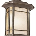 Two-Light-Rust-Tea-Stained-Linen-Glass-Wall-Lantern-0-0