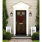 Westinghouse-6321500-Valley-Forge-Two-Light-Outdoor-Wall-Lantern-Oil-Rubbed-Bronze-Finish-with-Clear-Seeded-Glass-0-0