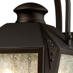 Westinghouse-6321500-Valley-Forge-Two-Light-Outdoor-Wall-Lantern-Oil-Rubbed-Bronze-Finish-with-Clear-Seeded-Glass-0-2