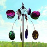 Wind-Weather-Colorful-Speckled-Spoon-Wind-Spinner-0