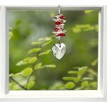 Woodstock-Chimes-CCHY-Rainbow-Makers-Suncatchers-Crystal-Heart-Cascade-Ruby-0-0