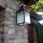 Y-Decor-EL2283RT-Modern-Transitional-Traditional-2-Light-Rustic-Bronze-Exterior-Outdoor-Light-Fixture-with-Clear-Seedy-Glass-Small-By-Y-Dcor-Brown-0-2