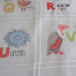 Cross Stitching A Baby Afghan Other Creative Endeavors The Greenleaf Miniature Community