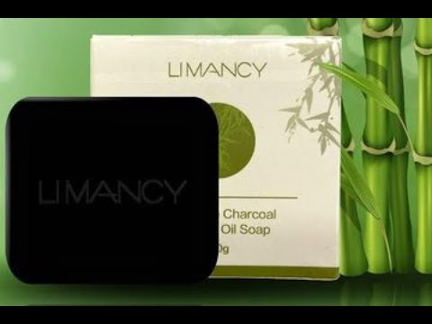 Limancy Handmade Charcoal Essential Oil Soap
