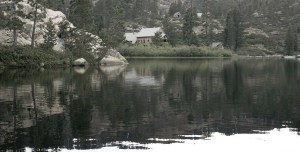 Salmon Lake California, Cabins set natural wilderness in the Sierra