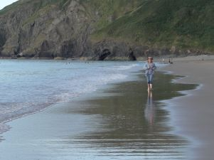 Penbryn beach, Ceredigion
