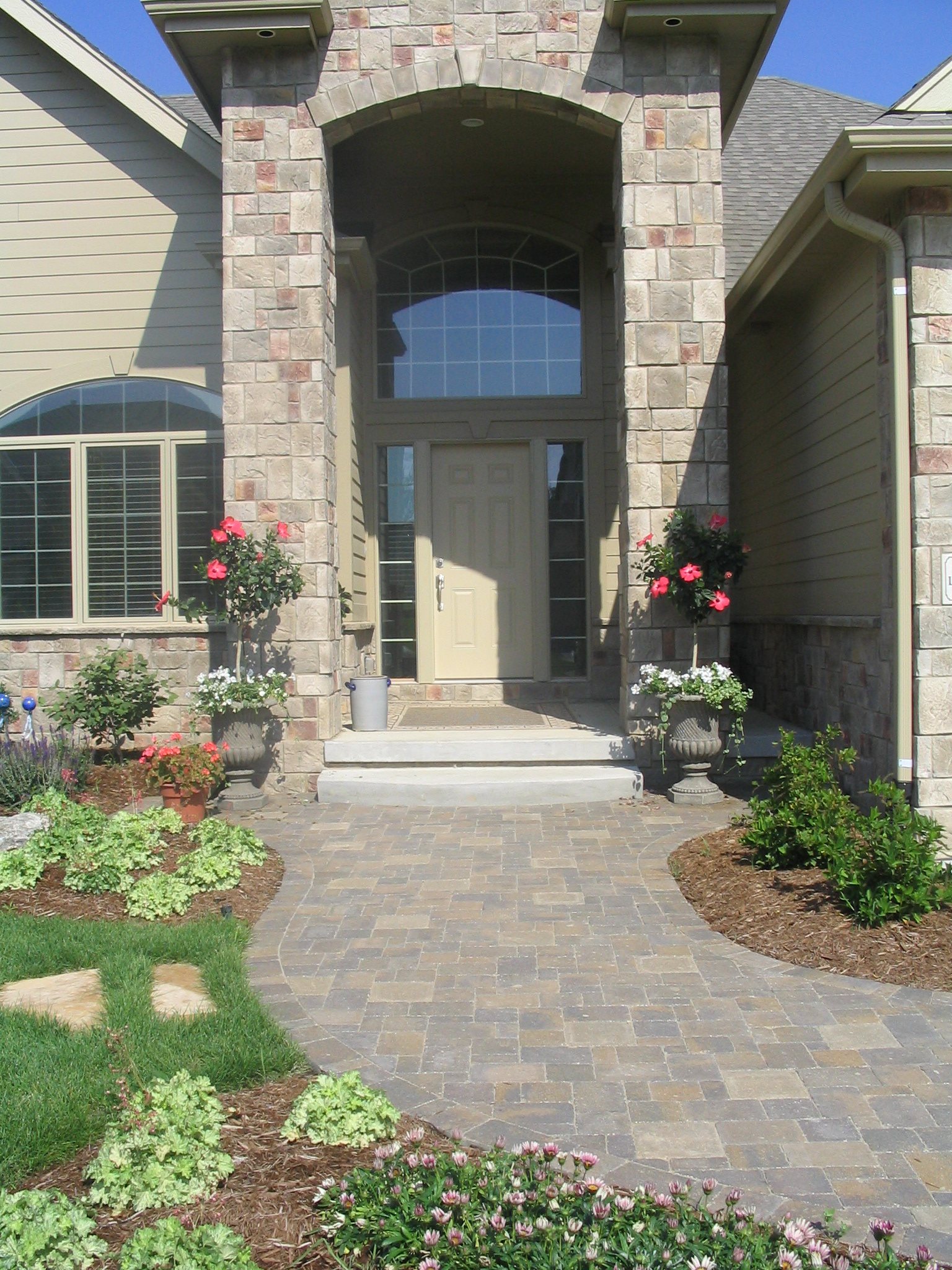 Landscape Designs House Front