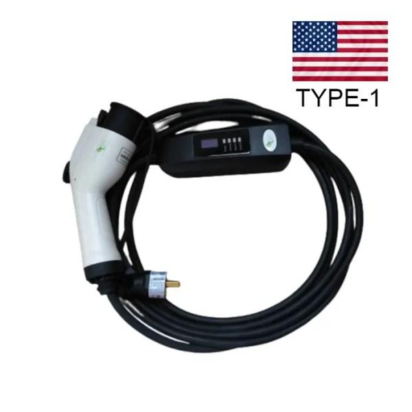 Зарядное устройство для электромобиля J1772 16A