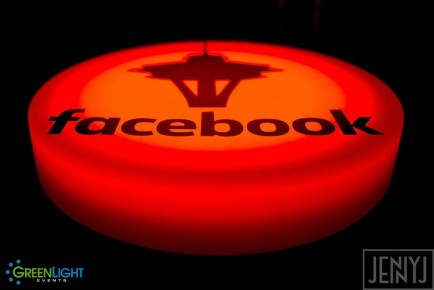 Custom Lightpad for Facebook by GreenLight Events