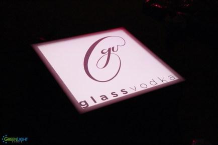 Custom Lightpad for Glass Vodka by GreenLight Events