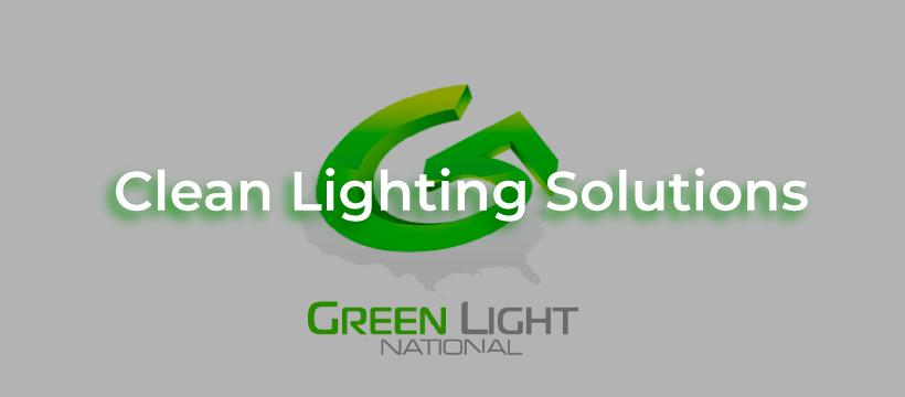 clean lighting solutions green light