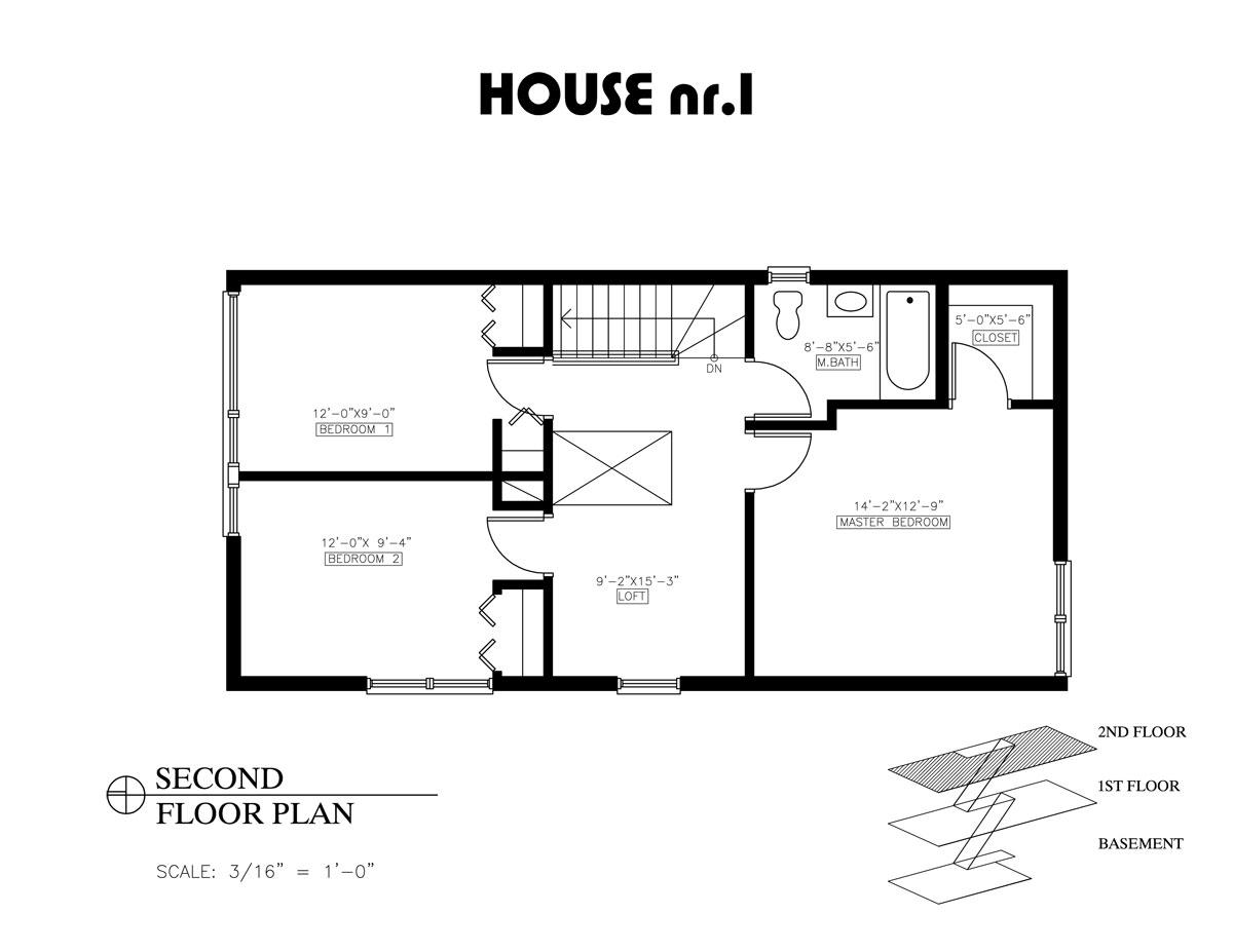 2 Bedroom House Plans Open Floor Plan