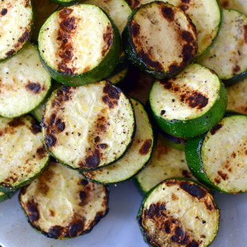 A Wing Night-In with the Best Zucchini Ever!