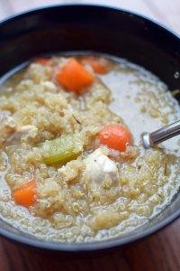 Chicken and Quinoa Soup portrait