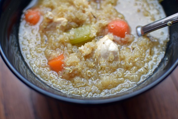 Chicken and Quinoa Soup