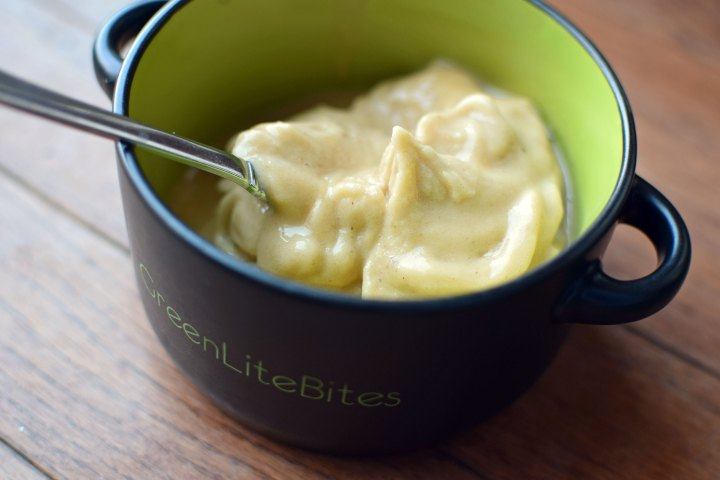 Peanut Butter Banana Soft Serve