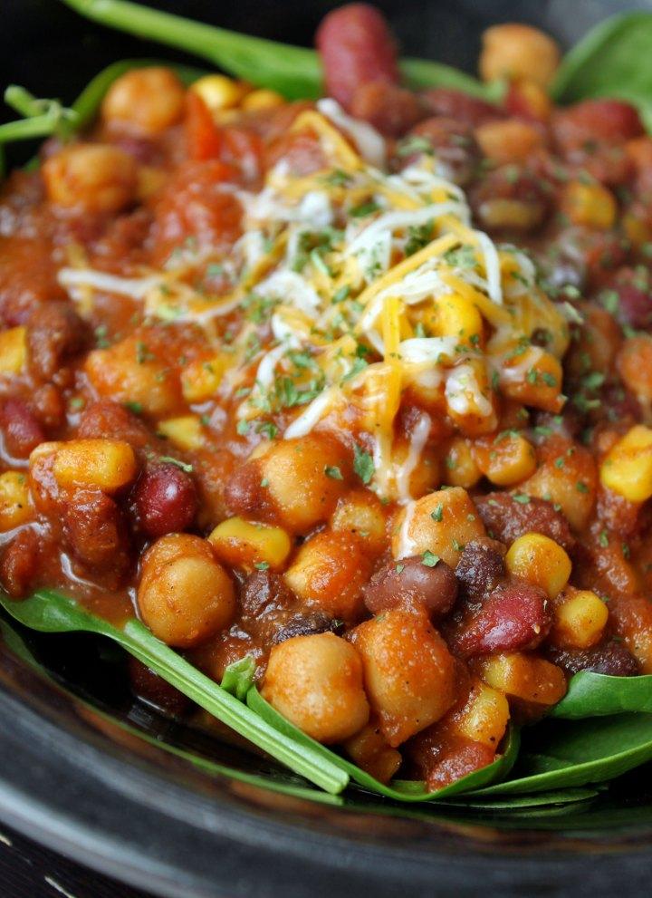 Quick 3-Bean Chili Portrait