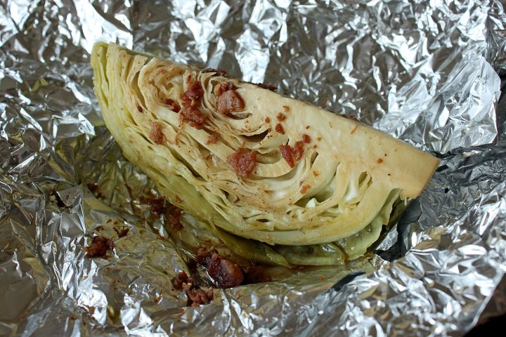 Roasted Grilled Cabbage