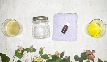 DIY|Μαντηλάκια καθαρισμού προσώπου