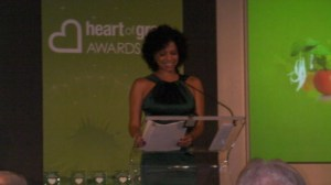 Gloria Ruben at Heart of Green Awards