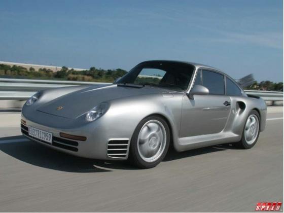 Electric Porsche