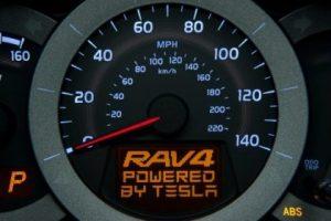 rav4 powered by tesla