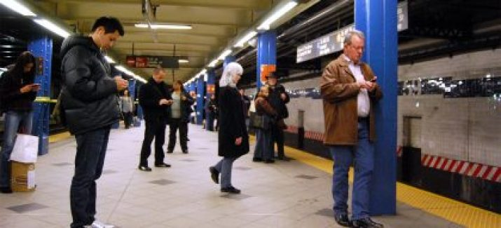 Public transportation like subways