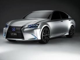 Lexus LFGh Concept hybrid electric