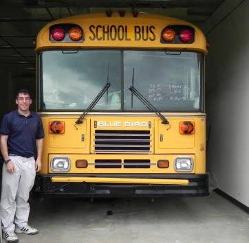 Ford Georgia Tech school bus