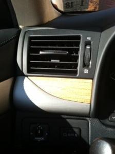 lexus 600h L hybrid interior