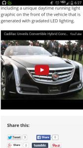 Cadillac ciel prototype plugin hybrid ev