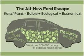 Ford uses Kenaf Plant