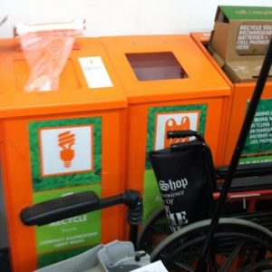 Home Depot offering customers to recycle CFL bulbs and batteries