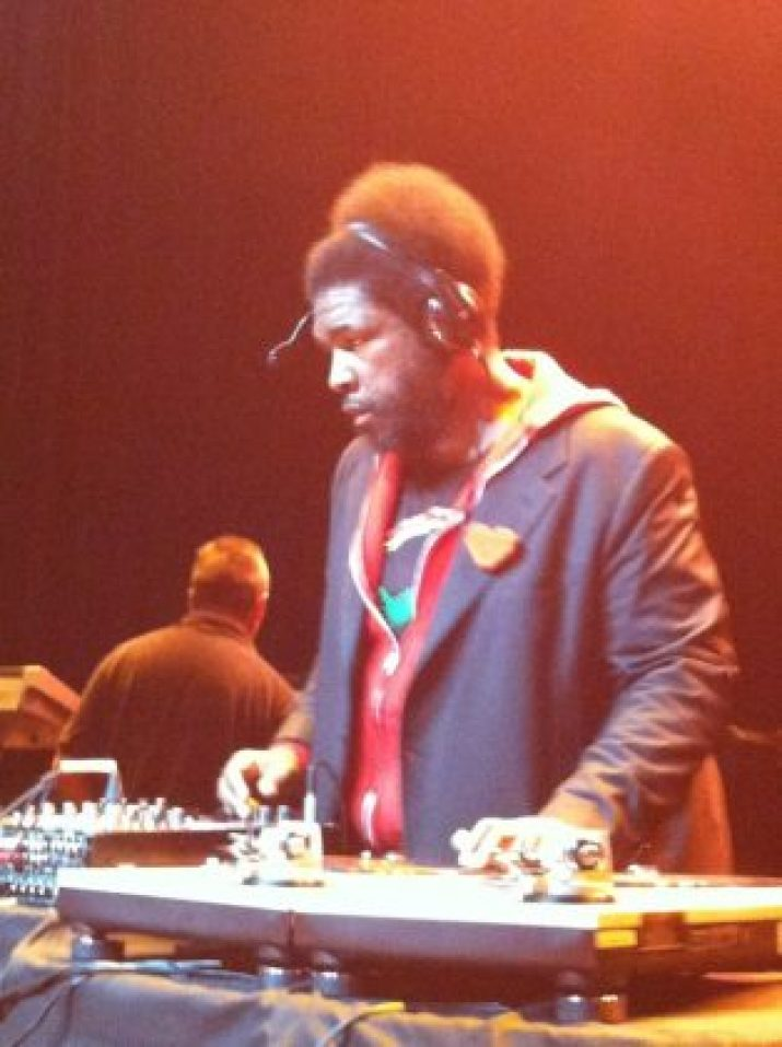 Quest Love from the Roots and the Tonight show DJ