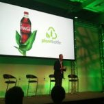 Coca Cola plant-based bottle