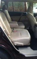 Rear passenger seats 2013 Toyota Highlander Hybrid Limited